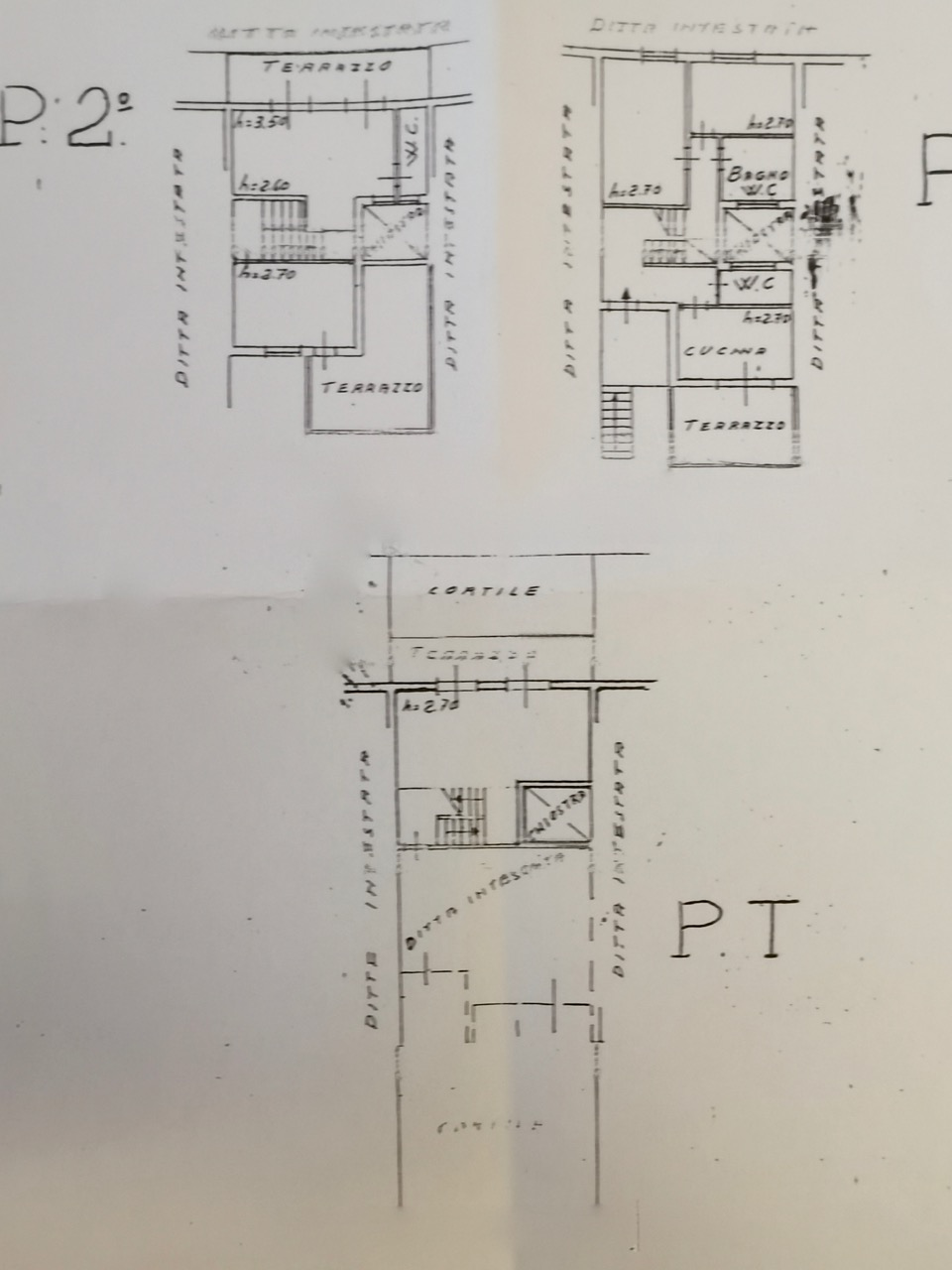 Planimetria 1/1 per rif. MQ-2920