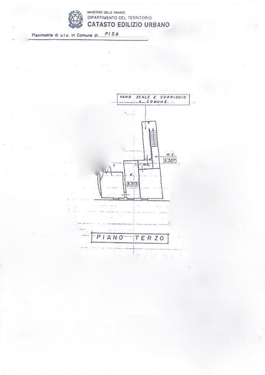Planimetria 1/1 per rif. 16cc