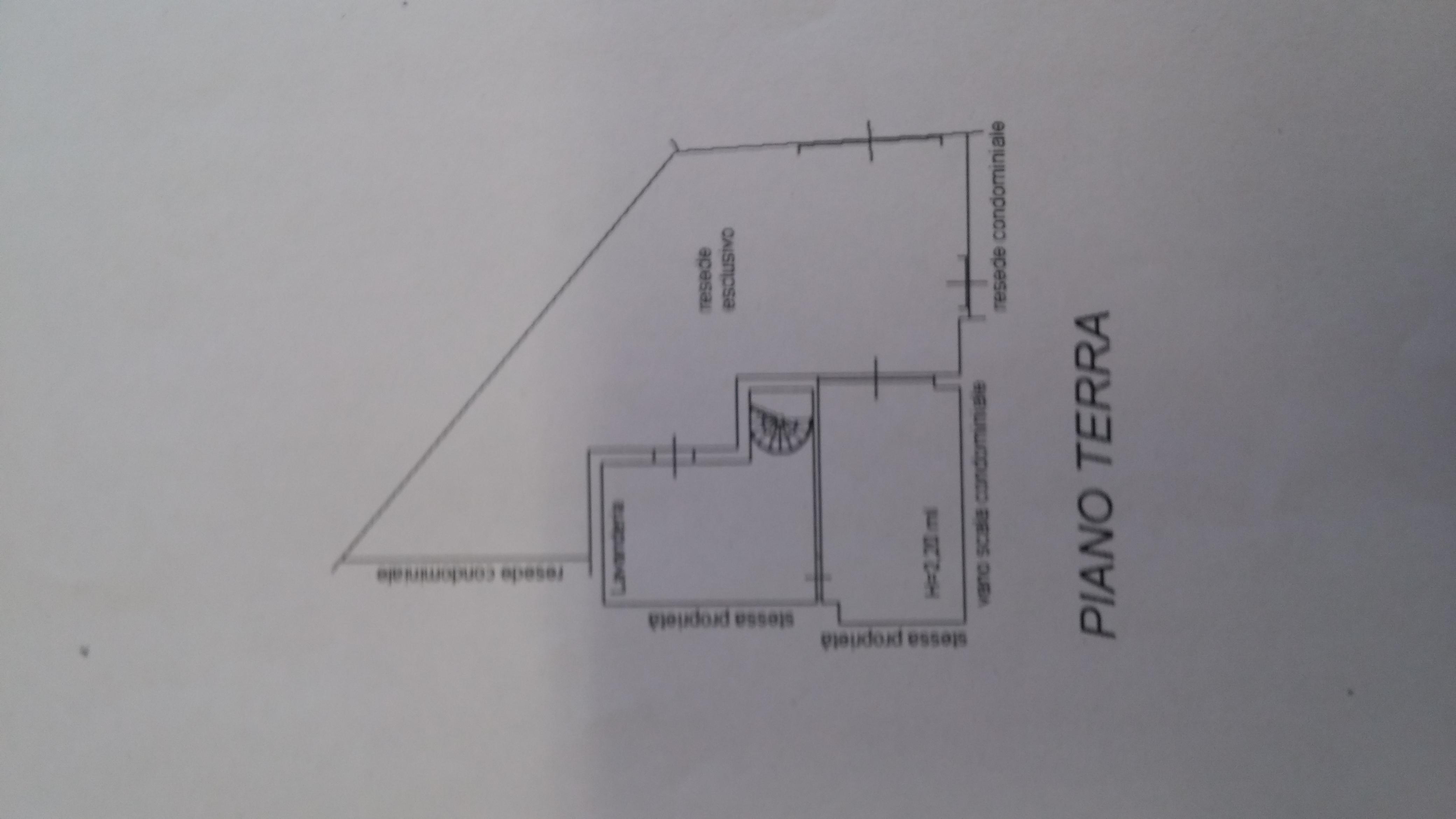 Planimetria 1/2 per rif. 5475