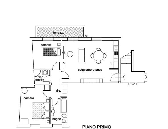 Appartamento in vendita - Caprona, Vicopisano