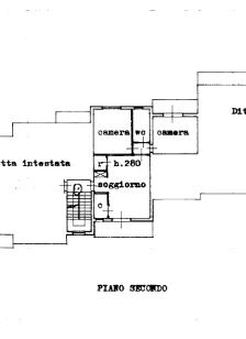 Appartamento in vendita, rif. 5798 (Planimetria 2/2)