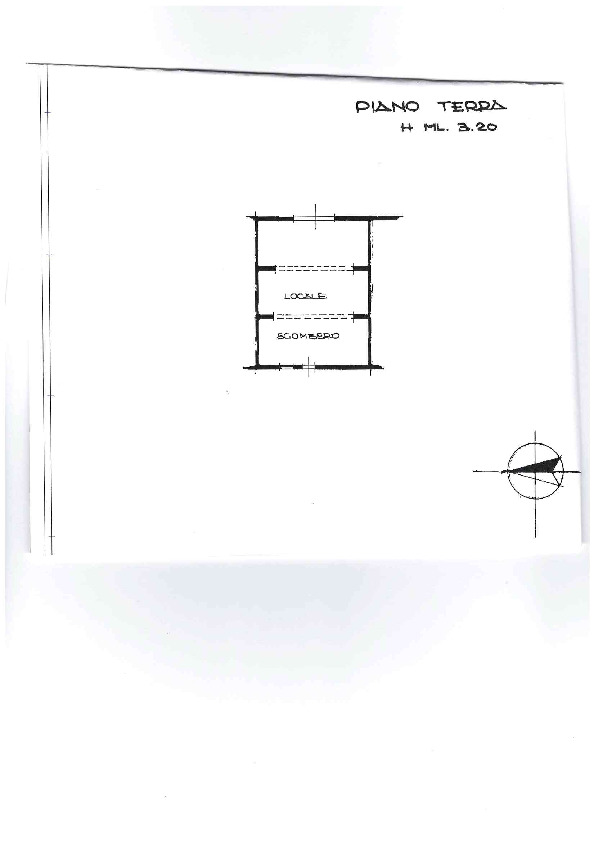 Planimetria 1/2 per rif. AE1298V