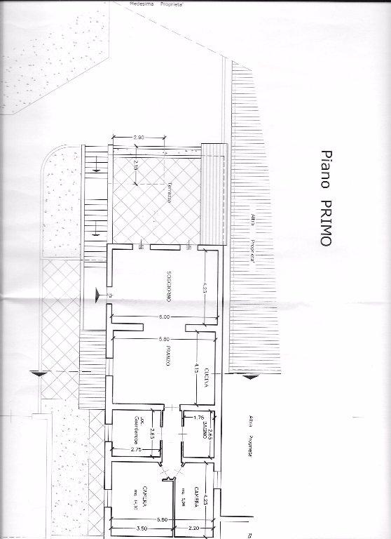 Planimetria 1/1 per rif. 898