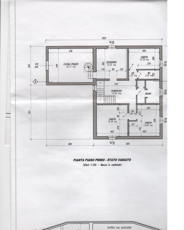 Planimetria 1/1 per rif. 1073