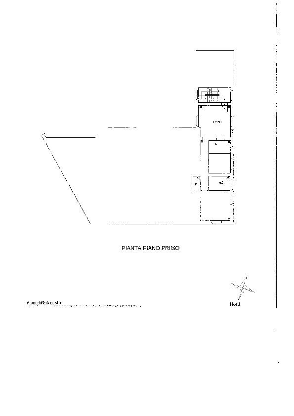 Planimetria 1/2 per rif. 1227