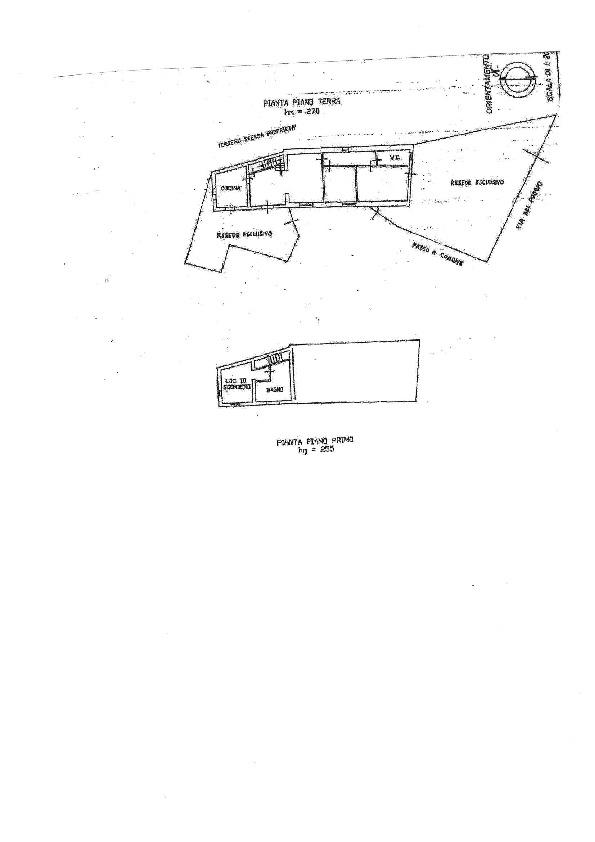 Planimetria 1/1 per rif. 1197