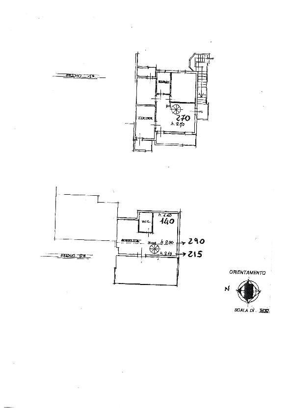 Planimetria 1/1 per rif. AE1242