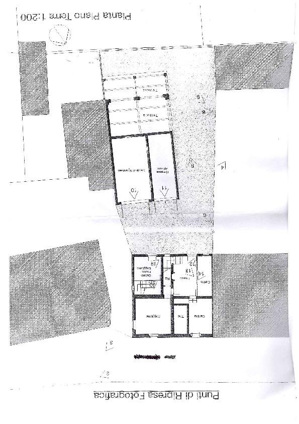 Planimetria 1/1 per rif. AE1244