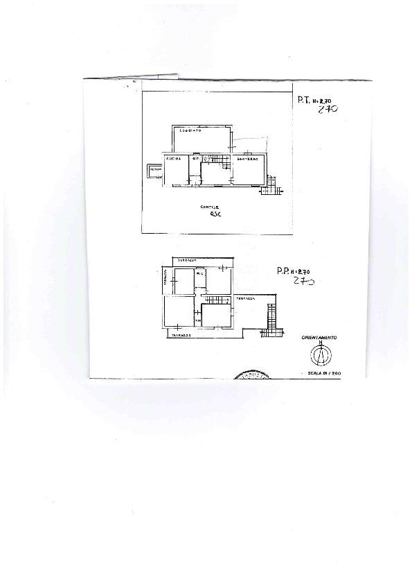 Casa singola in vendita, rif. AE1258V (Planimetria 1/1)