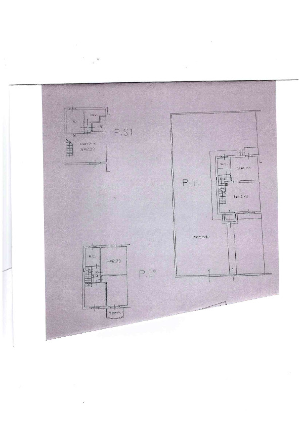Planimetria 1/1 per rif. AE1278V