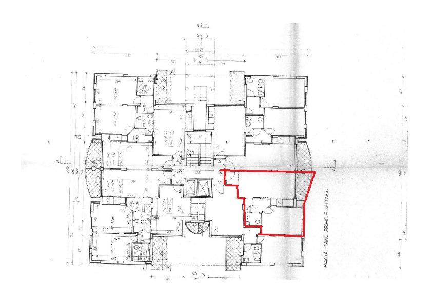 Planimetria 1/1 per rif. AE1257V