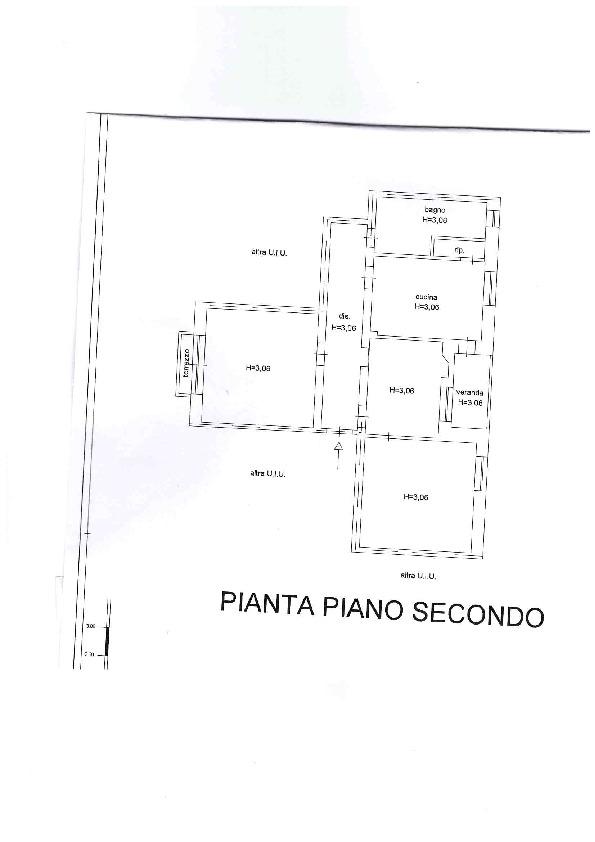 Planimetria 1/1 per rif. AE1291V