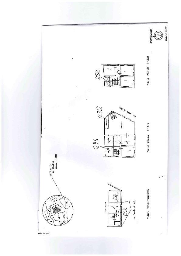Terratetto in vendita, rif. AE1305V (Planimetria 2/3)