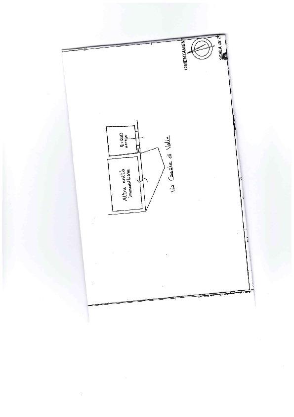 Planimetria 1/3 per rif. AE1305V