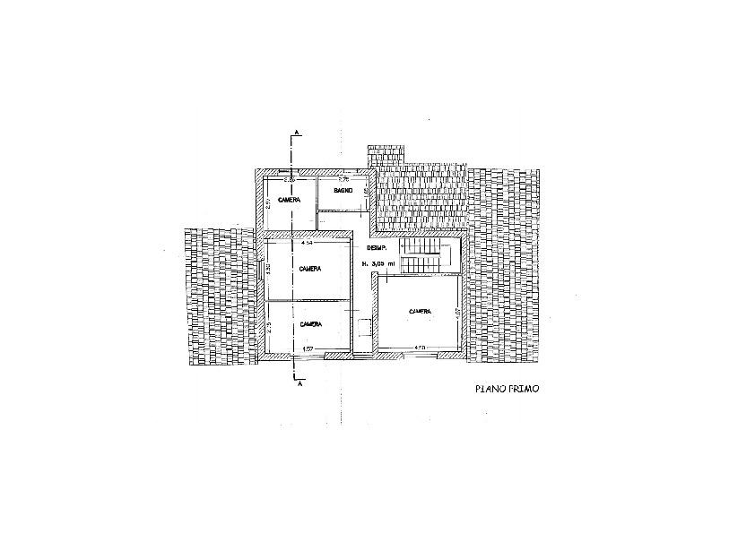 Planimetria 2/2 per rif. AE1311V