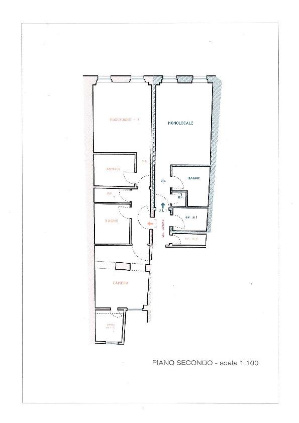 Planimetria 1/1 per rif. AE1318V