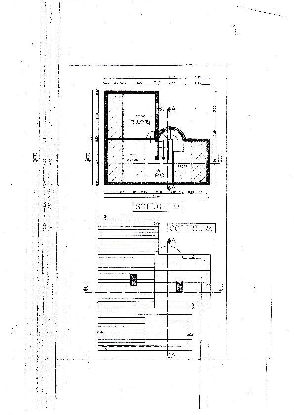 Planimetria 2/3 per rif. S547