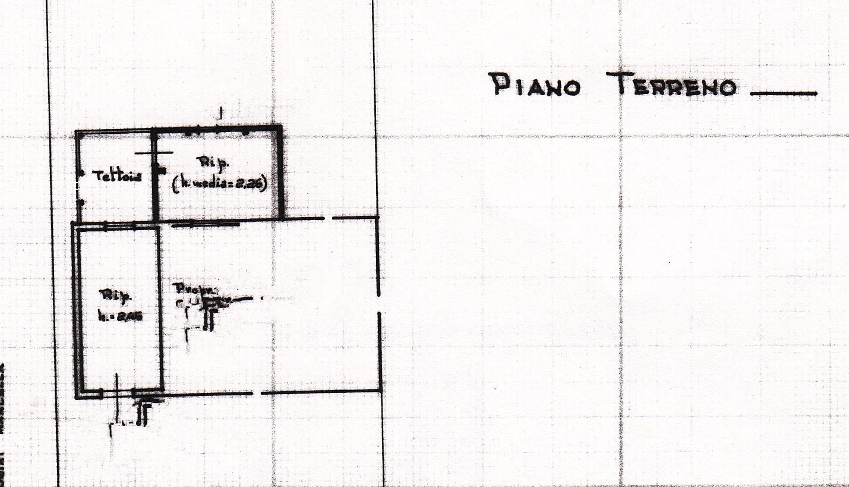 Planimetria 2/3 per rif. S187