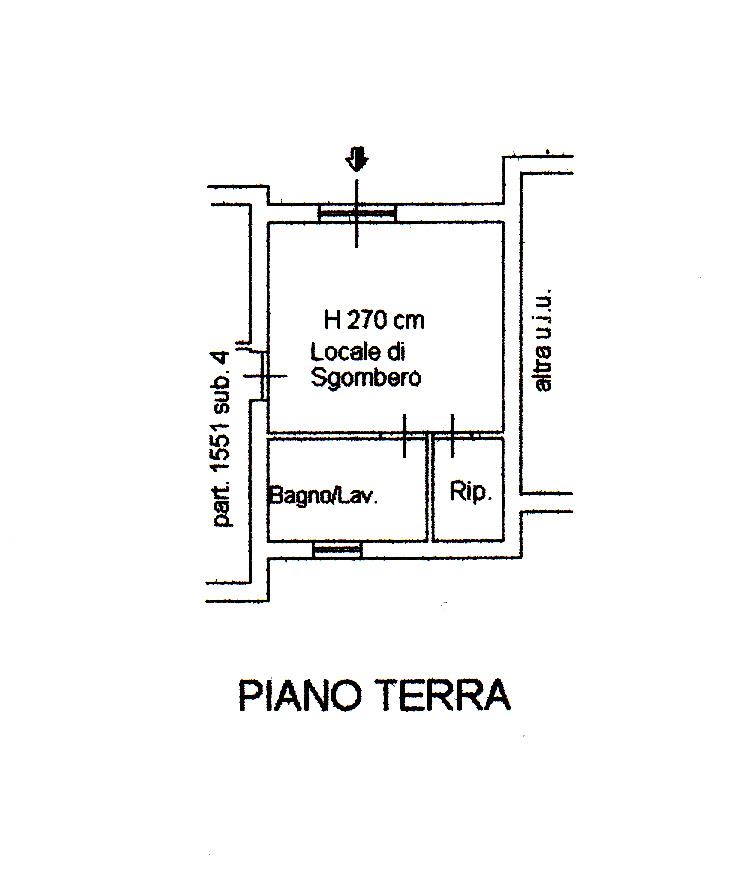 Planimetria 2/3 per rif. M10