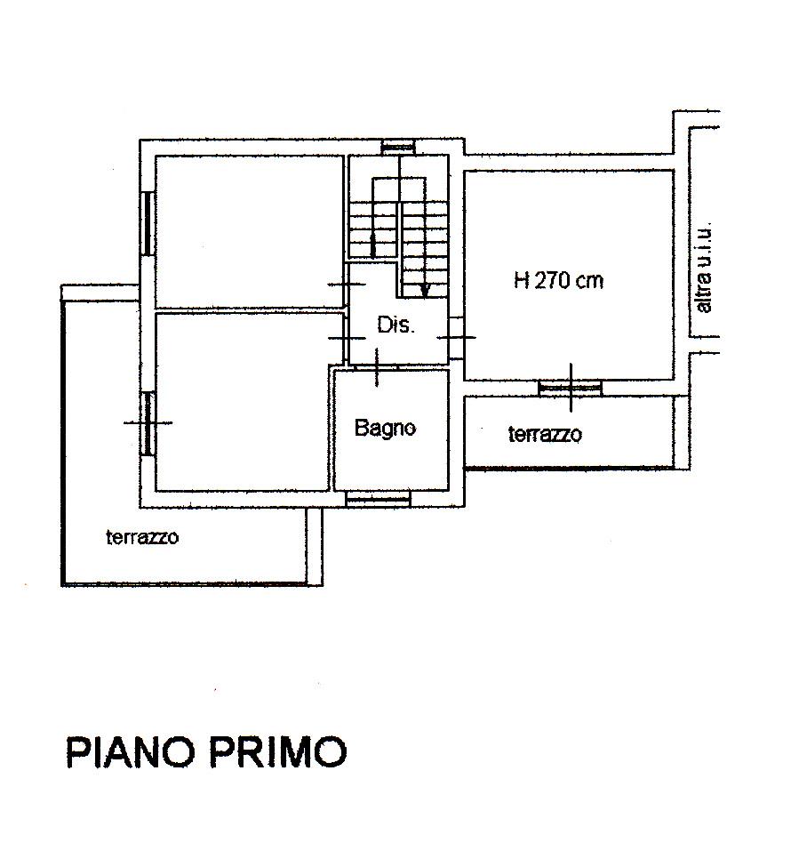 Planimetria 3/3 per rif. M10