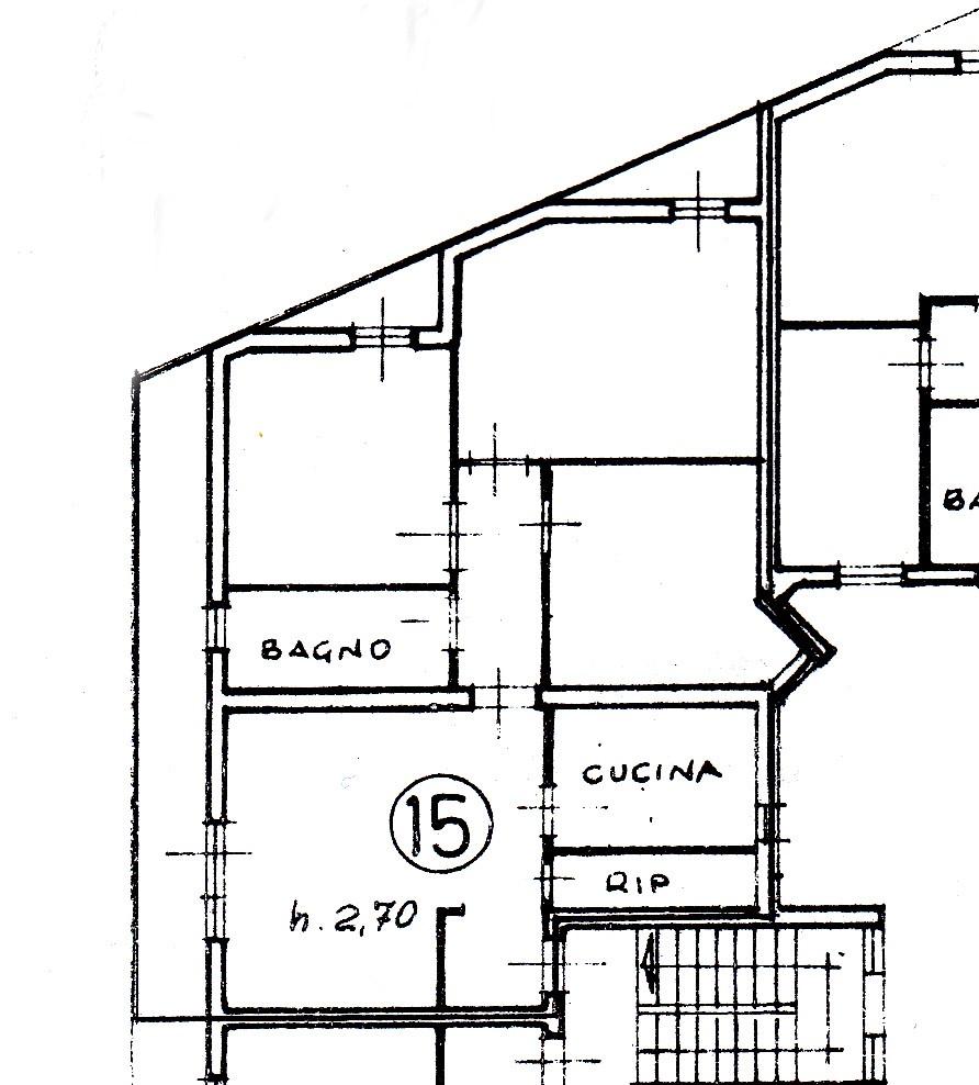 Planimetria /1 per rif. A254