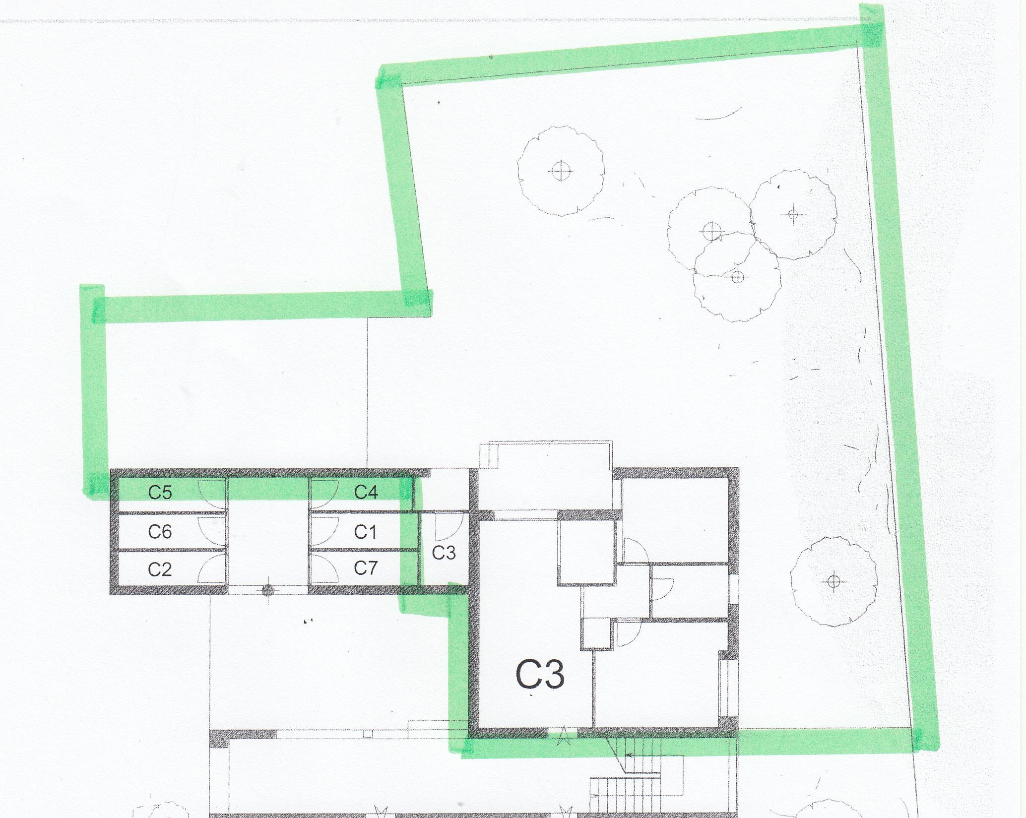 Planimetria 1/1 per rif. S623