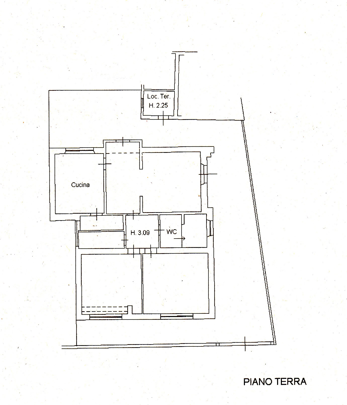 Planimetria /1 per rif. S633