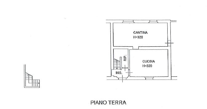 Planimetria 1/3 per rif. S653