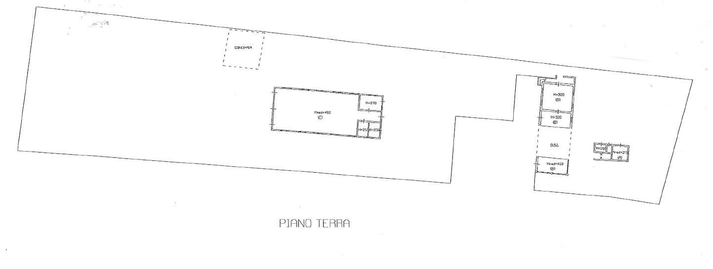 Planimetria 2/3 per rif. S653