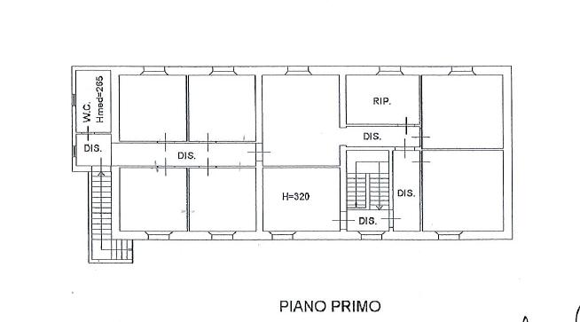 Planimetria /3 per rif. S653