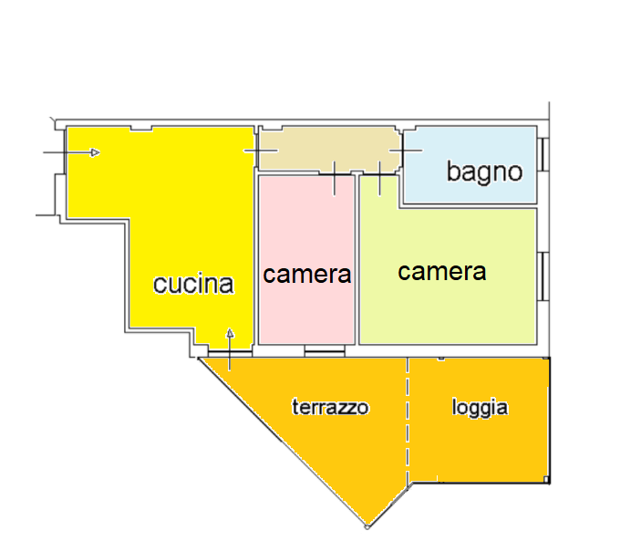 Planimetria 1/2 per rif. BRST416