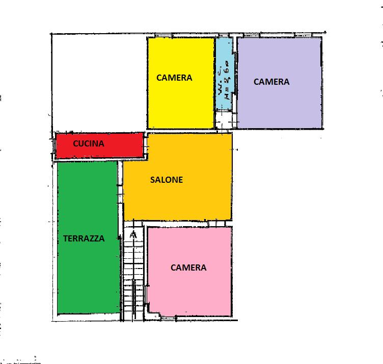 Planimetria 1/2 per rif. BRST258