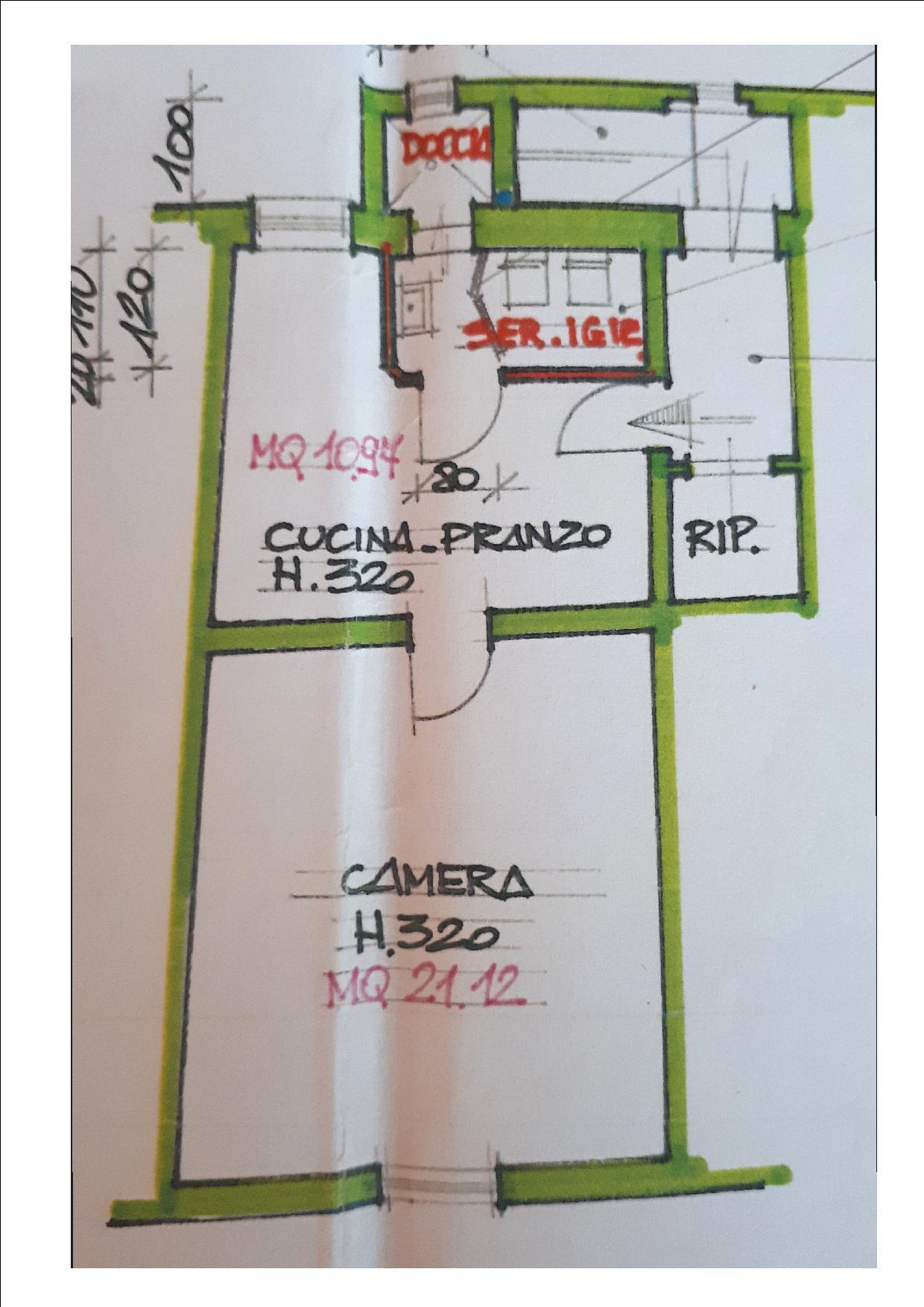 Planimetria 1/2 per rif. BRST273