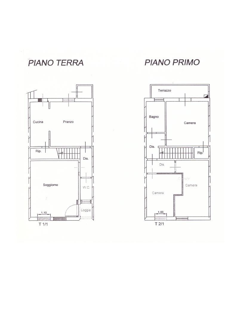 Planimetria /1 per rif. 2430