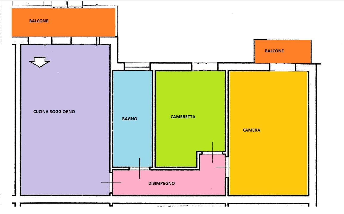 Planimetria 1/1 per rif. BRST295