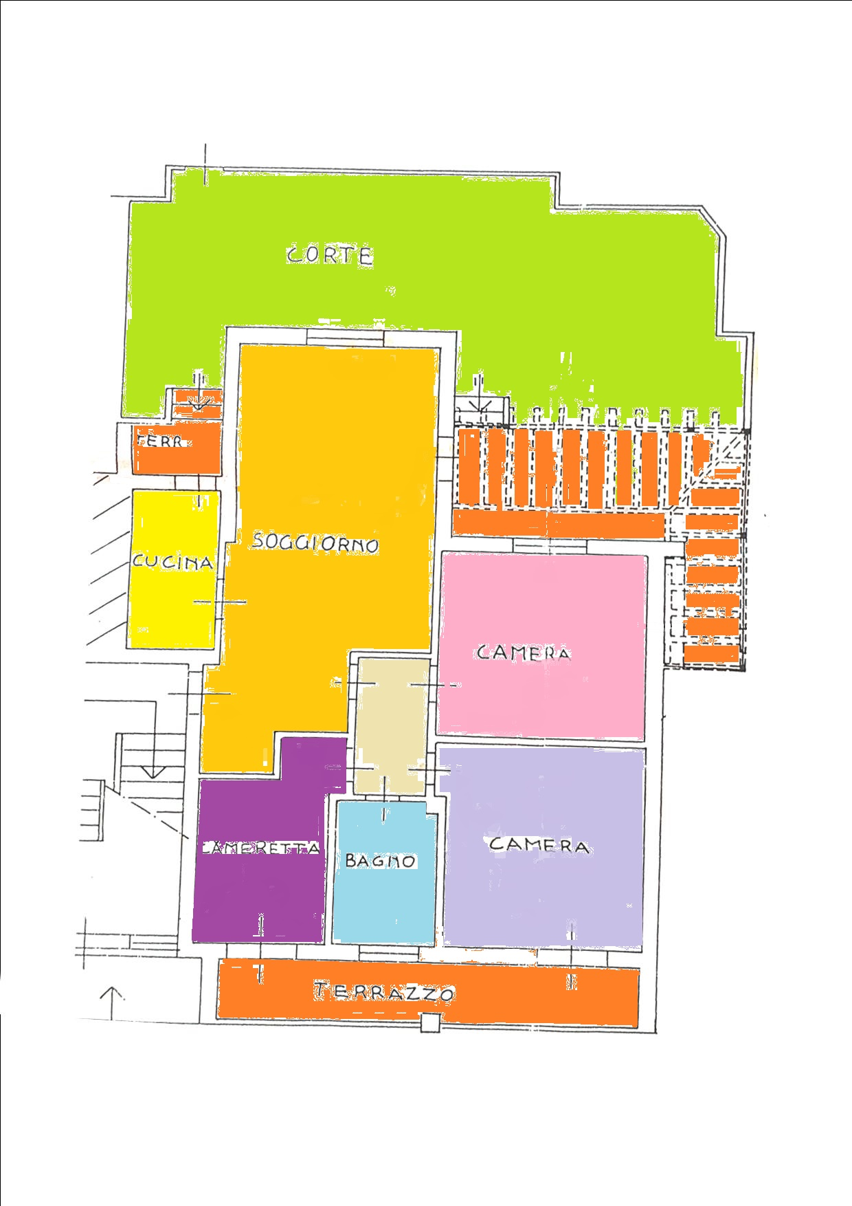 Planimetria 1/1 per rif. BRST314