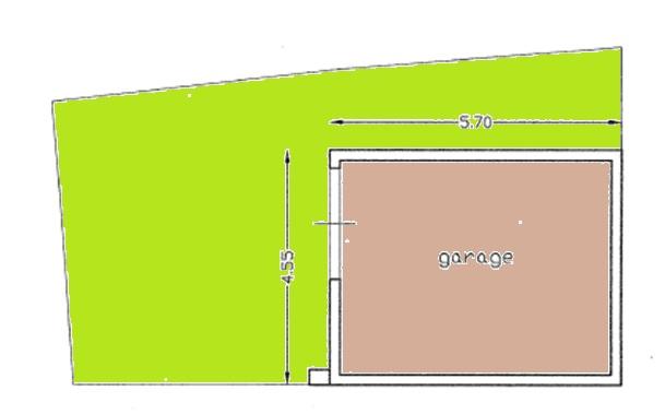 Planimetria 2/3 per rif. BRST315