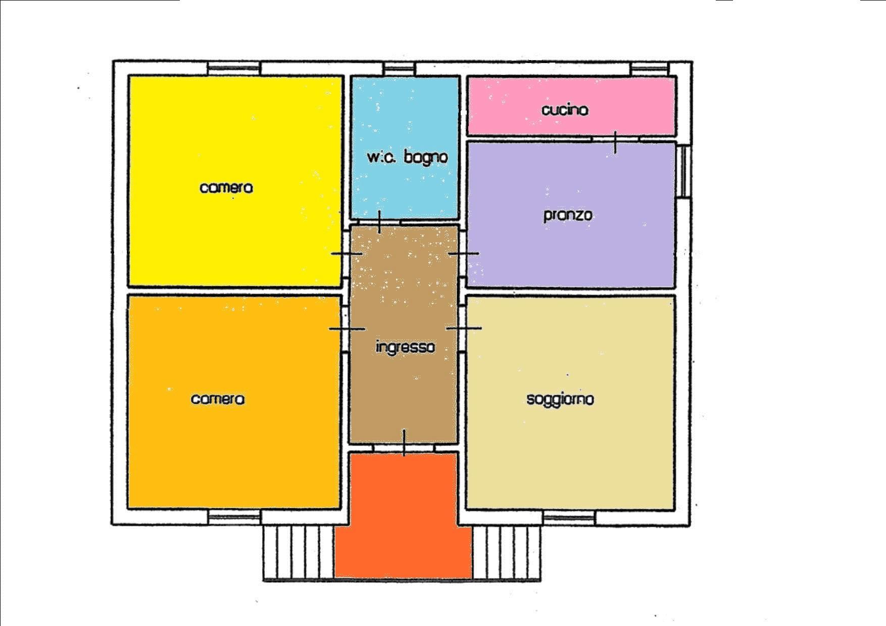 Planimetria 1/2 per rif. BRST361