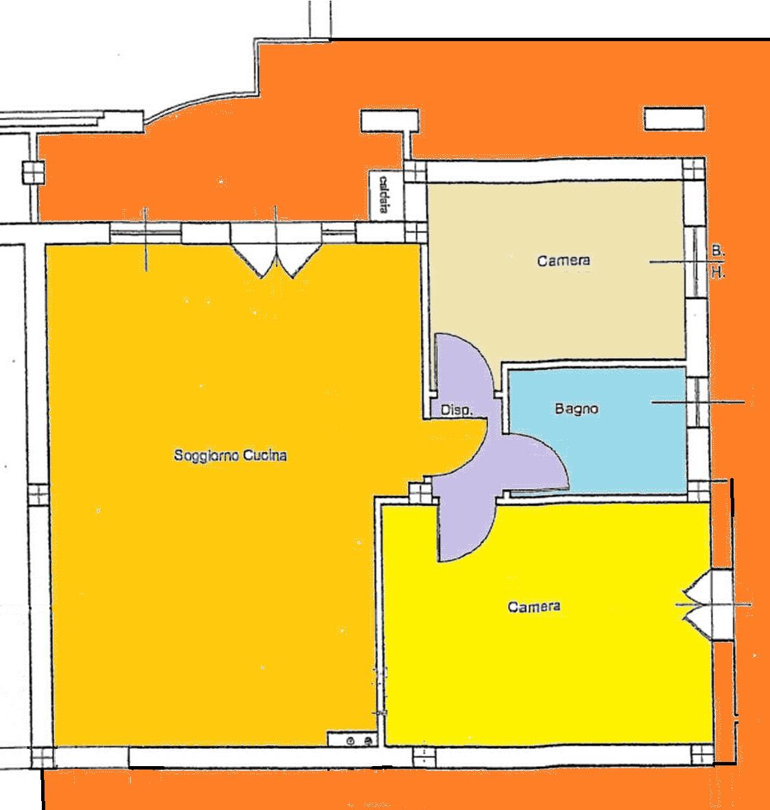 Planimetria 2/2 per rif. BRST362
