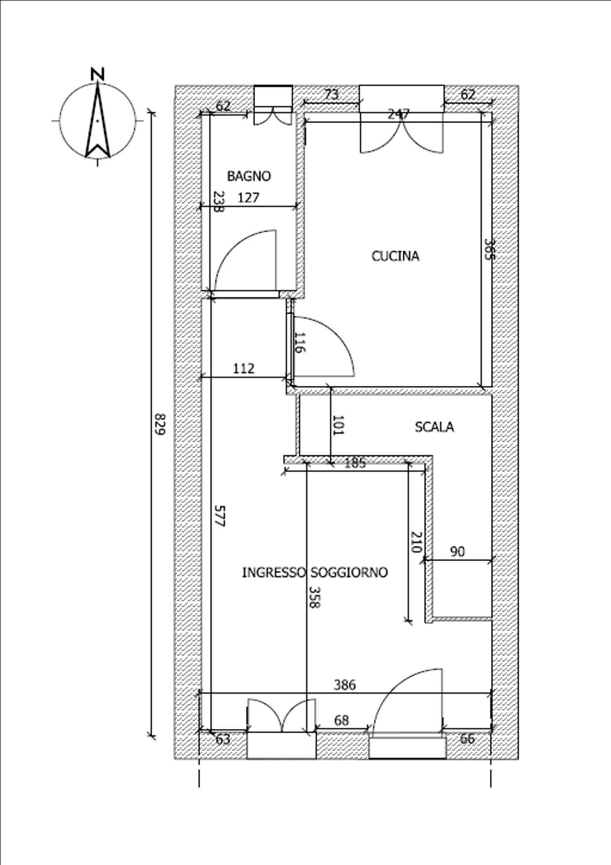 Planimetria 1/2 per rif. BRST372