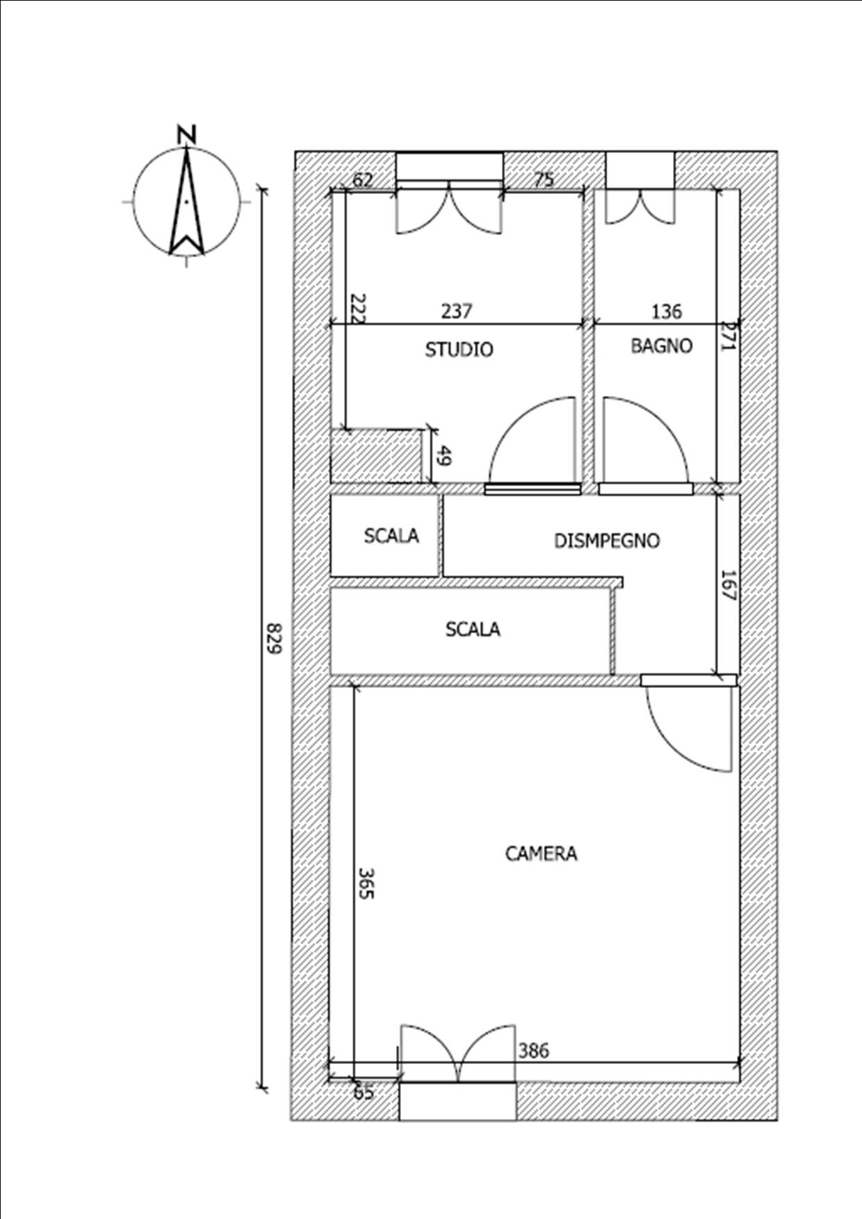 Planimetria 2/2 per rif. BRST372