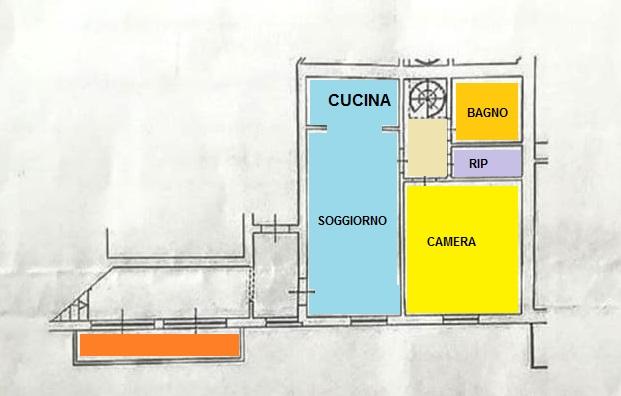 Planimetria 1/1 per rif. BRST389