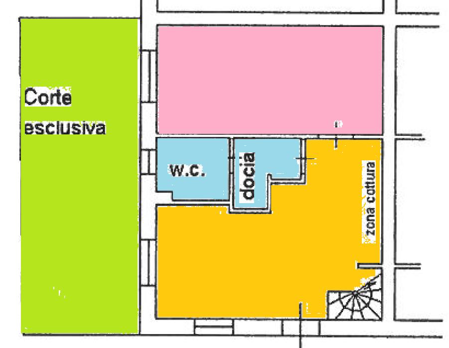 Planimetria 1/2 per rif. BRST392