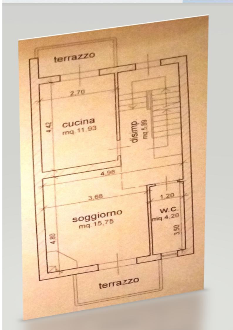 Planimetria 1/2 per rif. BRST401