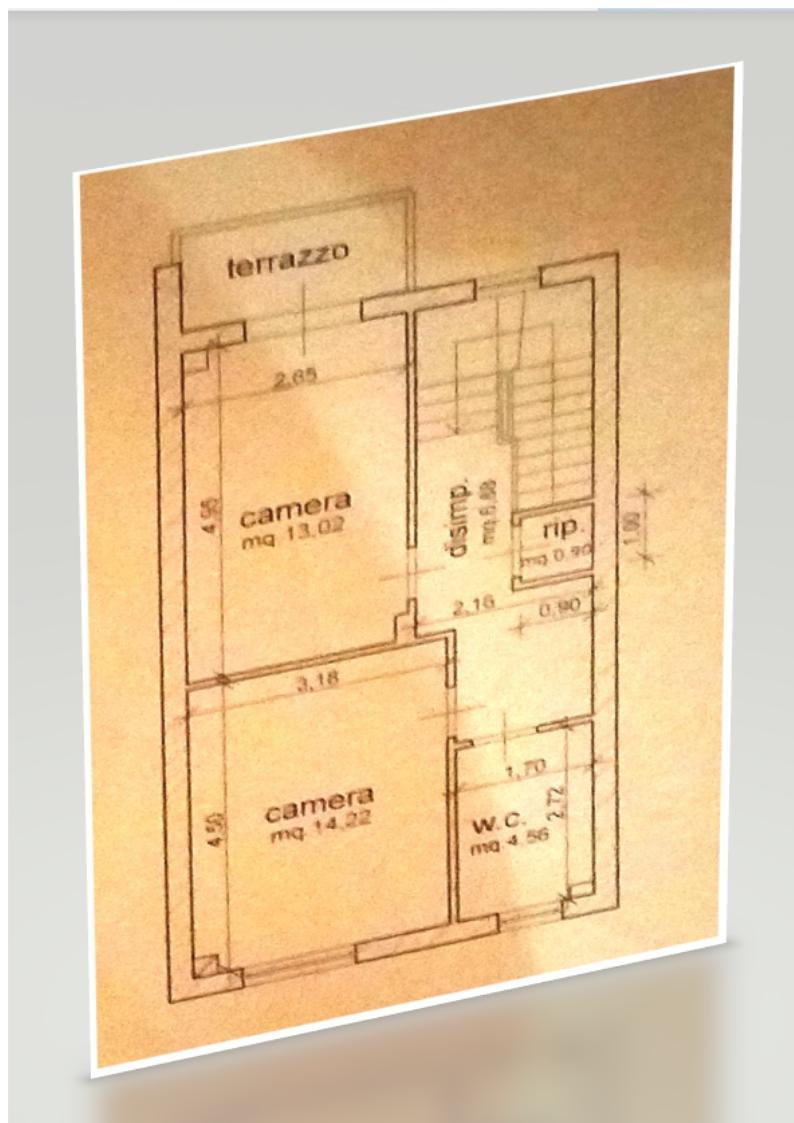 Planimetria 2/2 per rif. BRST401