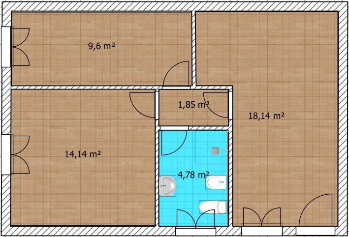 Planimetria 1/1 per rif. BRST420