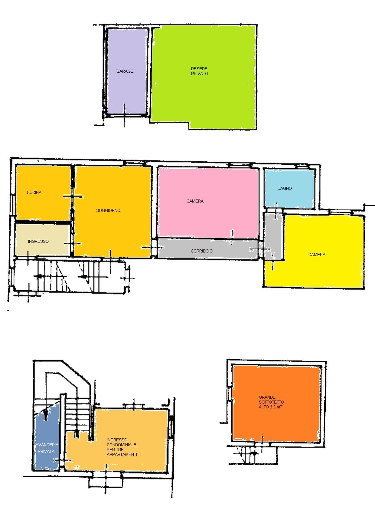 Planimetria 1/1 per rif. BRST431