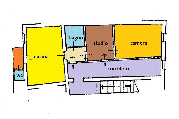 Planimetria 1/2 per rif. BRST439