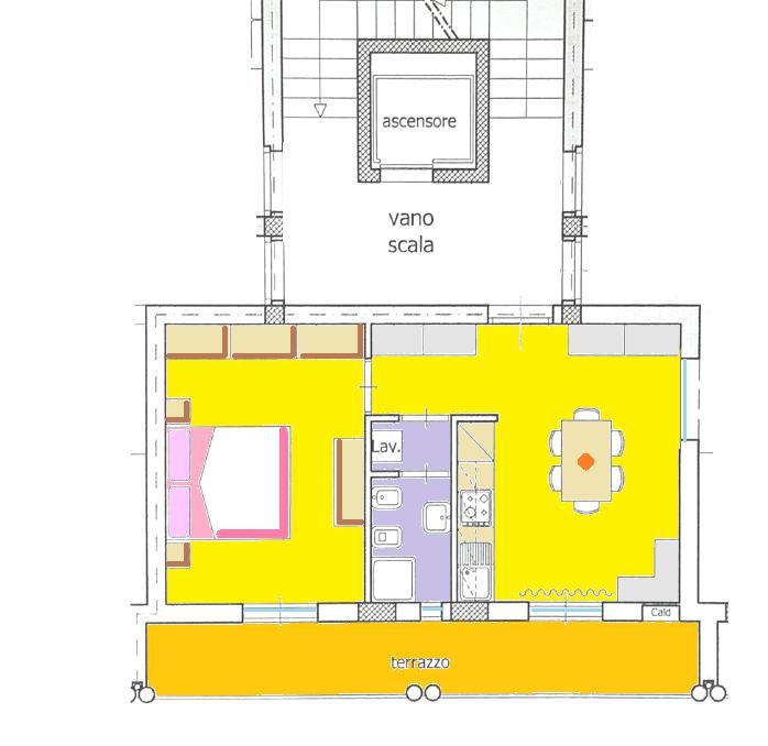Planimetria 1/1 per rif. BFST443