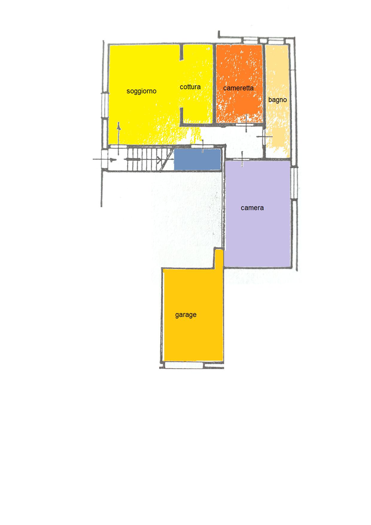 Planimetria 1/1 per rif. BRST448